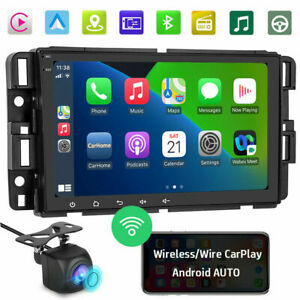 Android10 1 Wireless Carplay Car Radio Stereo Gps Wifi For Gmc Chevrolet Hummer