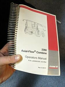 Case Ih 2366 Axial flow Combine Owner Operator Maintenance Manual Jjc0255700 up