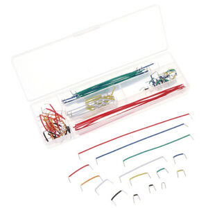 140pcs Solderless Breadboard Jumper Cable Wire Kit Diy Shield For Ar mx
