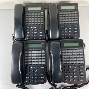 Comdial Lot 4 Digital Executive Phone Office Systems Black 7260 00 Clean c