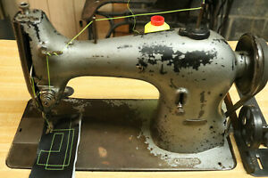 Singer Industrial Heavy Duty Single Needle Feed Leather Sewing Machine 95 10