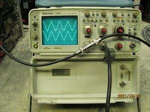 Tektronix 2336 100mhz 2 Channel Oscilloscope In Good Working Condition
