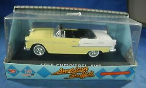 Motor Max American Griffiti 1955 Chevy Bel Air Die Cast Collection Nib 143