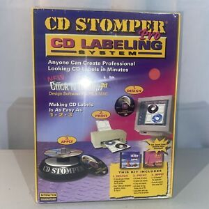 Avery 2002 Labeling System Cd Stomper Pro Computer Software New Sealed