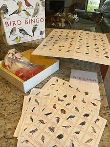 BIRD BINGO Illustrated by Christine Berrie Magma for Laurence King NEW Open Box $15.00
