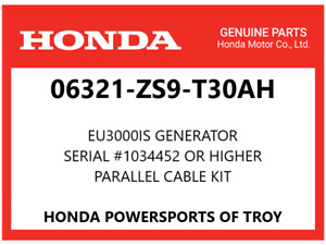 Genuine Honda Parallel Cable Kit Eu3000is Generator see Desc 06321 zs9 t30ah