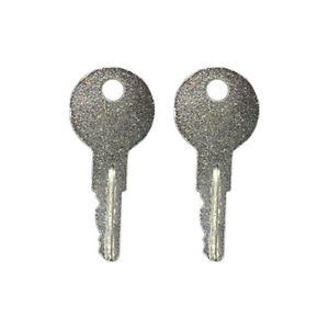 2 Ignition Key For Ford New Holland Yale Lull Skid Steer Forklift 556 642628