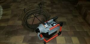 Ridgid K 60 Sewer Cleaning Machine With 75 Ft Snake
