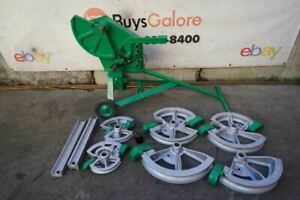 Greenlee 1818 Conduit Pipe Bender Emt Rigid 1 2 To 2 Inches Great Shape 2