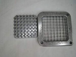 3 8 Blade Assembly And Push Block For French Fry Cutters Vegetable Chopper