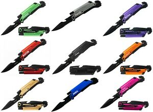 Personalized Tactical Knives 6 in 1 Multitool Engraved Pocket Knife Groom $19.95