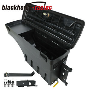 Passenger Right Side Swing Storage Case Tool Box For 1999 2016 Ford F250 F350
