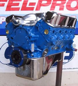 Ford 351 Windsor 345 Hp High Performance Balanced Crate Engine Truck Mustang