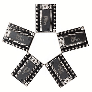 5pcs Lv8729 Stepper Motor Driver 4 layer Substrate Ultra Quiet Driver Support 6v