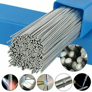 100x Easy Melt Welding Rods Low temperature Aluminum Wire Brazing 1 6mm 50cm New