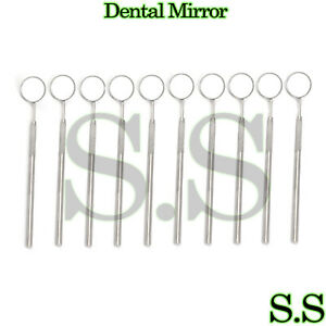 12 Pcs Dental Mouth Mirror 5 W handle Dental Instrument
