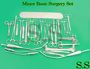 Minor Basic Surgery Set Surgical Ent Medical Instrument Ds 1003