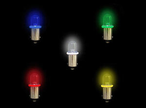 Ultra Bright Round Dome Lens Led Bulb With Ba9s Base