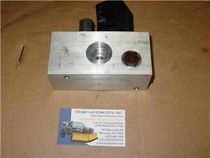 New Diamond Meyer Valve Block Belt Drive Under Hood Meyers Plow Pump