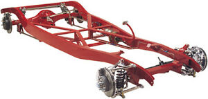 Tci 1933 1934 Ford Chassis Street Rod Ifs Or Dropped Axle 4 link Coil overs
