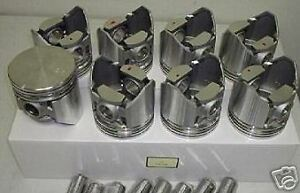 Buick Special Pistons Rings 215ci 215 Aluminum 1961 62 63 Pst2152a