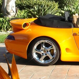 Porsche 993 Strosek Turbo Style Decklid Wing Fitments For 911 964 And 993