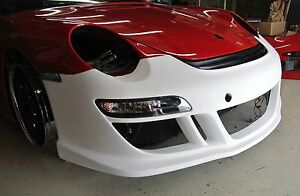 Porsche 911 997 Rt12 Sport Turbo Style Front Bumper new C2 C4 Turbo