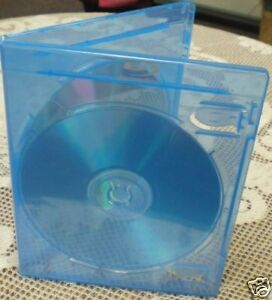 Sale 100 Blu ray Disc Double Dvd Case Bl28 Printed B r Logo W booklet Clips