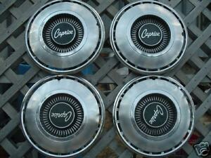 Vintage Classic Antique Chevy Chevrolet Caprice Hubcaps Wheel Covers Center Caps