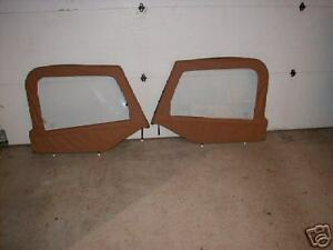 97 06 Jeep Wrangler Spice Upper Doors Soft Top With Frames