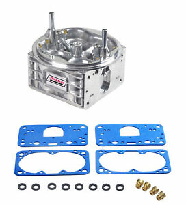 Quick Fuel 850 Cfm Carburetor Center Main Body Aluminum Fits Holley Hp 6 850