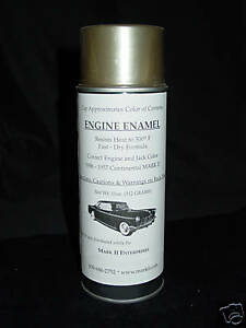 1956 1957 Lincoln Continental Mark Ii Engine 500 Degree Paint Exact Color