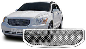 Dodge Caliber Chrome Mesh Grille Bentley Grille Full Replacement Trim 07 2009
