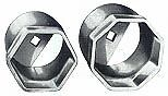 Otc 1921 2 1 2 6pt Truck Wheel Bearing Locknut Socket
