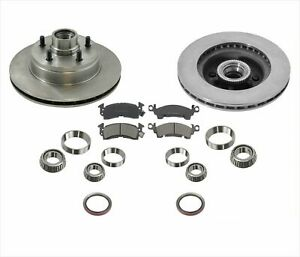 Front Brake Rotors Pads Kit Fits For 1994 2002 Astro Van 2 Wheel Drive
