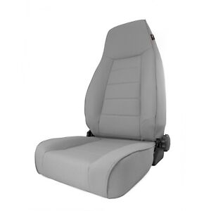 Gray Xhd Front Reclining Seat For Jeep Wrangler Tj 1997 06 13412 09 Rugged Ridge