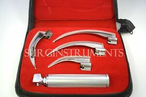 Laryngoscope Mac Set Emt Anesthesia Intubation Supplies