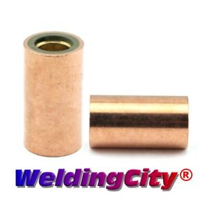 Nozzle Adapter 34ct For Tweco 3 4 Lincoln 300 400a Mig Welding Guns