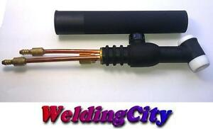 Weldingcity Tig Welding Torch Head Body Wp 20v Valve 250a Water cool Us Fast