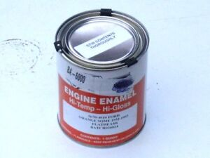 1955 1956 55 56 Ford Flathead Engine Paint Red