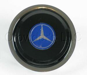Nardi Steering Wheel Center Push Horn Button With Mercedes Benz Logo