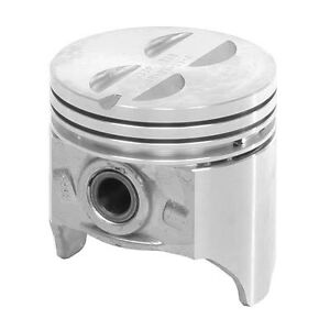 Chevy Corvette 265 V8 Flat Top Cast Pistons rings 1955 1956 1957 Specify Size