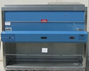 Nuaire Nu 425 600 Biological Safety Cabinet 6 Decontaminated W Uv Lamp Stand