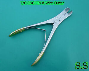 T c Cnc Pin Wire Cutter 7 Angled Surgical Instruments
