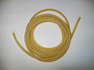 10 Feet 1 8 I d X 1 32 Wall Surgical Latex Rubber Tubing Amber