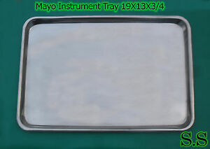 Mayo Instrument Tray 19x13x3 4 Surgical Dental Veterina