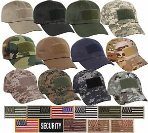 Special Forces Operator Tactical Cap Hat w Patch $12.39