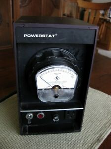 Powerstat Variac Variable Autotransformer N116bk 10a