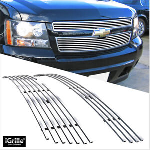 Fits 2007 2014 Chevy Tahoe suburban avalanche Billet Main Upper Grille