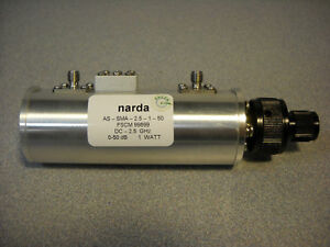 Narda Step Attenuator Model As sma 2 5 1 50 No D o a